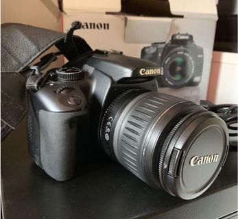 🚚 Canon DSLR EOS 400D + EF-S 18-55mm f3.5-5.6 II lens