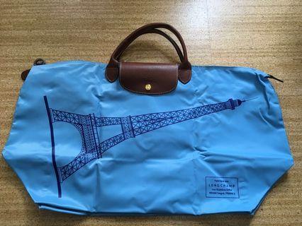 Longchamp折疊包 短提把XL.