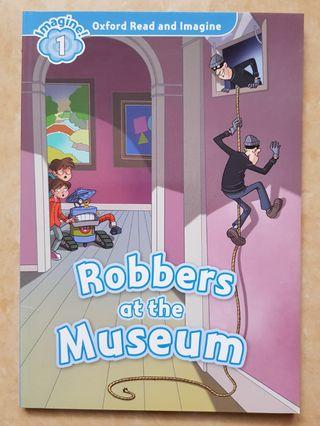 Robbers at the Museum. Buku Cerita Reading, Oxford read and imagine.