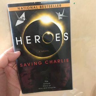 HEROES Saving Charlie 小說 #MTRcentral #MTRcwb #MTRtm