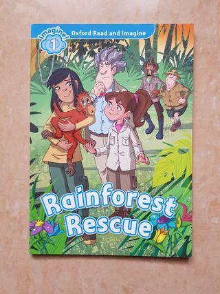 Rainforest Rescue. Buku Cerita Anak Bahasa Inggris. Oxford read and imagine. Reading