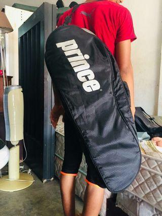 Bag raquet tennis