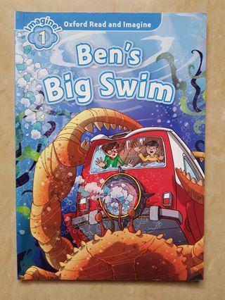 Ben's Big Swim. Buku Cerita Anak Bahasa Inggris. Oxford read and imagine
