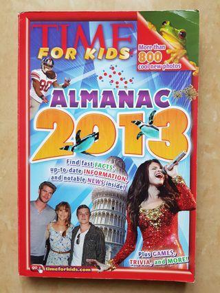 TIME for Kids. Almanac 2013. Knowledge book