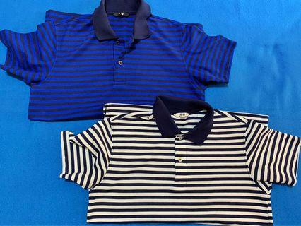 Uniqlo Stripes Polo Shirt