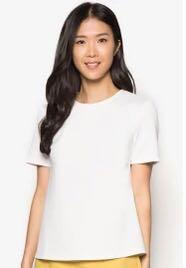 Zalora Collection Structured White Top