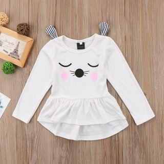 Instock - whiskers cat dress, baby infant toddler girl