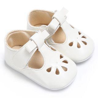 Instock - white Mary Jane shoes, baby infant toddler girl