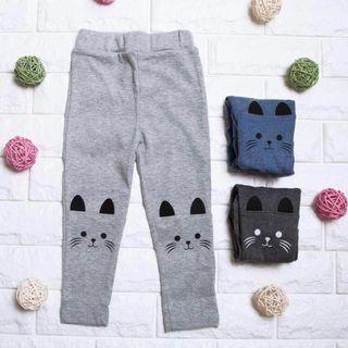 Instock - whiskers cat leggings, baby infant toddler girl boy