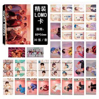 BTS BOY WITH LUV LOMO CARDS 30 PCS