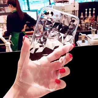 iPhone 7 8 - clear diamond case