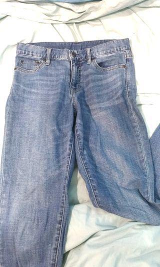 🚚 Lativ高腰直筒牛仔褲