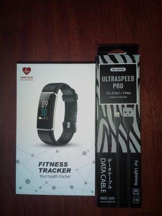 FITNESS TRACKER NEW ($10)FREE DATA CABLE