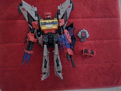 Transformers Blaster Universe Cybertron Galaxy Force soundwave