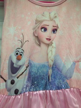 Frozen Dress size 6-8y