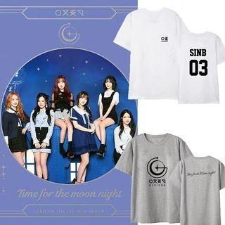 GFRIEND TIME FOR THE MOON UNOFFICIAL T SHIRT