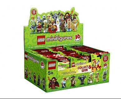 超抵! ~$20@Party禮物抽人仔🤸♀️🤸♂️整盒Minifigures Series 13 人偶抽抽包 第十三代