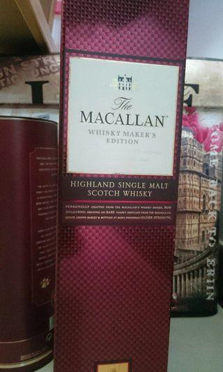 🚚 Macallan Whisky maker's edition