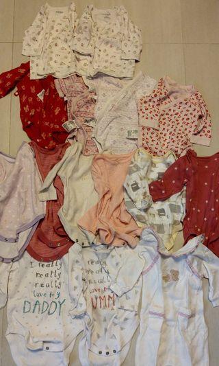 Babies clothes 0-3m, 3-6m, 6-9m (Uniqlo, Next, Mothercare, Mides, Nicolas n bear)
