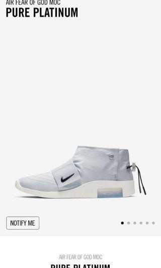 🚚 Nike fear of God mocassin