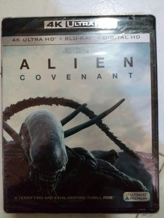 Bluray ALIEN 異形聖約 4K 藍光碟