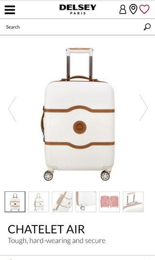 CHATELET AIR 55 CM SLIM CABIN TROLLEY CASE