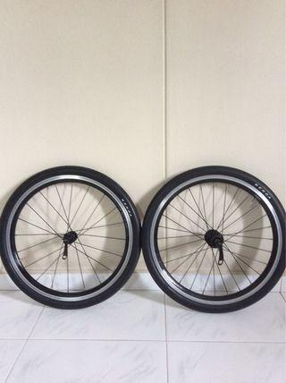 Kinetix comp wheelset