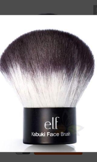 🚚 全新e.l.f. Kabuki Brush 蘑菇刷 #半價美妝拍賣會