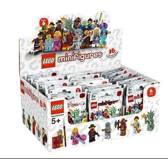🎁Party禮物抽人仔🤸♀️🤸♂️整盒Minifigures Series6   人偶抽抽包 第6代