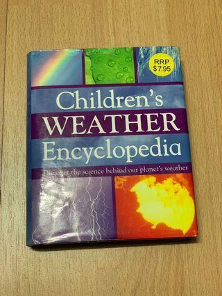 Children's Weather Encyclopaedia Book