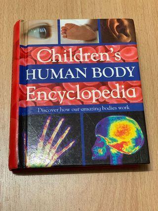 Children's Human Body Encyclopaedia Book