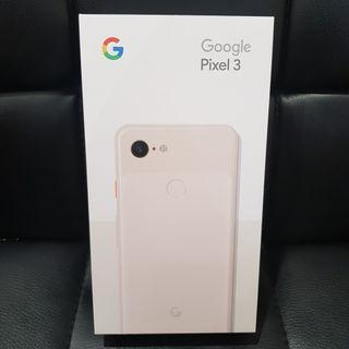 (NEW) GOOGLE PIXEL 3 NOT PINK 128GB