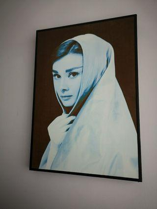 🚚 Portrait of Audrey Hepburn