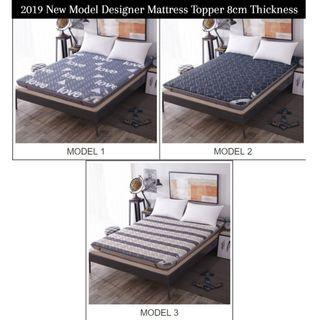 🔥2019 New Model🔥 8cm Quilted Designer Mattress Topper
