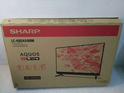 New SHARP LED  TV LC-40SA5100M 40 inch full hd