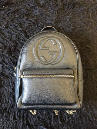 e7babb4a682 gucci backpack authentic