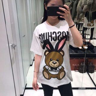 Moschino playboy bear 18SS兔耳朵熊 兔子熊