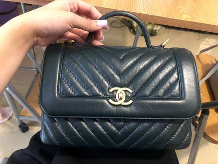Chanel 手挽+斜孭袋