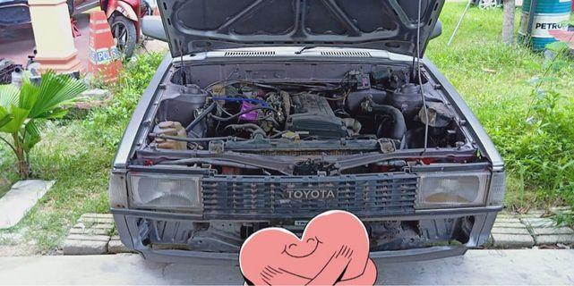 Toyota GL blacktop engine