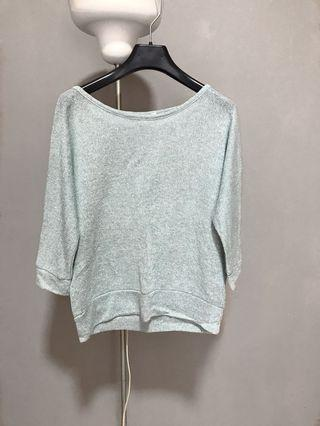Forever 21 Teal Knitted Top