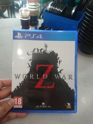 Used PS4 World War Z