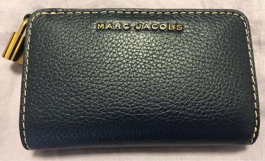 Marc Jacobs 經典牛皮拉鍊中夾