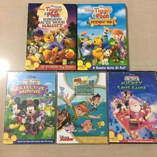 Children DVD Original Disney Playhouse Disney Juniors bundles
