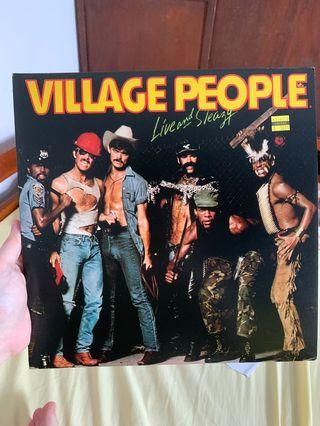 Village People   Live and Sleazy Vinyl
