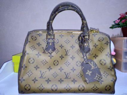 Tas Louis Vuitton brown LV bag