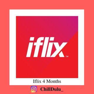 Iflix VIP 4 Months