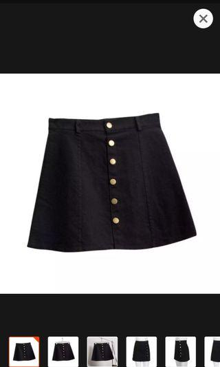 [PO] Ulzzung Button down skirt