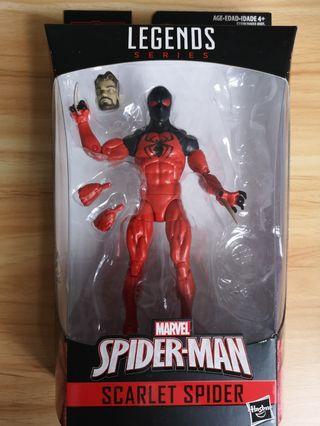 Marvel Legends Sp//Dr wave Scarlet Spider NO BAF