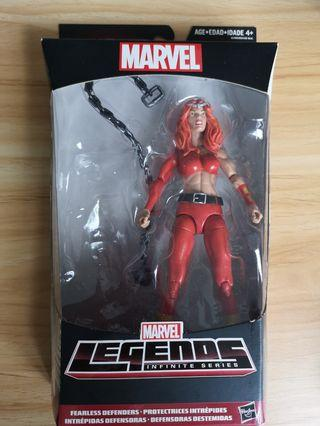 Marvel Legends Hulkbuster wave Thundra NO BAF