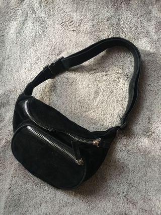 Velvet Waist Bag
